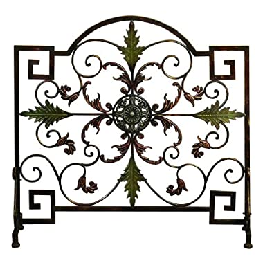 Deco 79 21634 Metal Fire Screen
