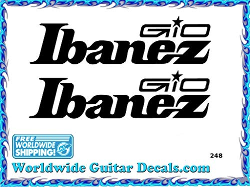 Ibanez Gio Guitar Decal Headstock Waterslide Restoration logo 248