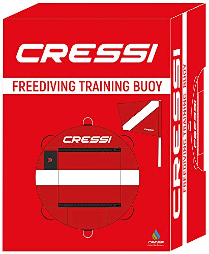 Cressi Inner Tube Freediving Training Buoy Bolsa para Traje Seco, Unisex-Adult, Multicolor, One Size