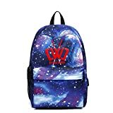 Galaxy Backpack CWC Chad Wild Clay Starry Sky Multi-Function Bookbag Laptop Shoulder Bag for Boys&Girls