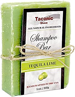 Taconic Shave Lime Shampoo Bar - All Natural/Handcrafted - 5.5 oz.