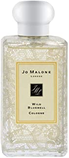Jo Malone Wild Bluebell Cologne Spray With Wild Rose Lace Design (Originally Without Box) 100ml/3.4oz