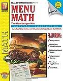Menu Math: The Hamburger Hut (Addition & Subtraction)   Reproducible Activity Book & Full-Color Menu