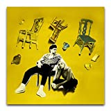 Ashe & Niall Horan (Moral of The Story) 2020 Album Cover Poster Decorative Painting Canvas Wall Art Living Room Posters Bedroom Painting 12'×12'(30*30cm)
