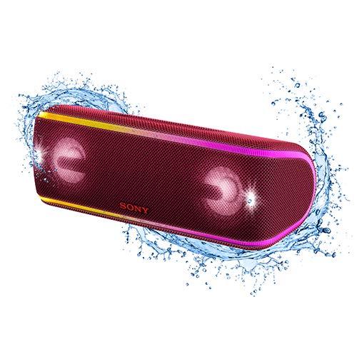 Caixa de Som sem Fio, Sony, SRS-XB41/RC BR4, Vermelho, Grande