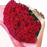 [ビズフラワー]【花束 バラ(国産)50~60センチ 108本 プロポーズ専用】薔薇 お祝い 誕生日 記念日 大切な日 BisesFlower