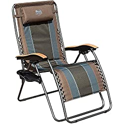 Timber Ridge Zero Gravity Locking Patio Lounge Chair- best camping chair with lumbar support