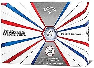 Callaway Golf Supersoft Magna Golf Balls, (One Dozen), White