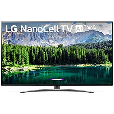 LG 55SM8600PUA Nano 8 Series 55 4K Ultra HD Smart LED NanoCell TV (2019), Black