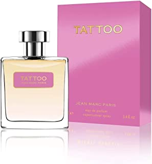 Jean Marc Paris TATTOO For Women Eau de Parfum Spray 100 ml /3.4 fl oz