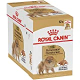 Royal Canin Breed Health Nutrition Pomeranian Adult Loaf in Gravy...