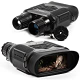 Visiocrest Night Vision Goggles Infrared Binoculars with 32 GB Memory Card for Photo and Video 100% Clear Vision in Darkness Surveillance and Hunting Nighttime Equipment
