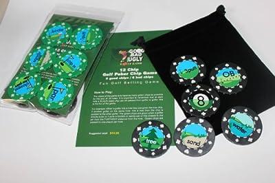 Golf Poker Chip Game