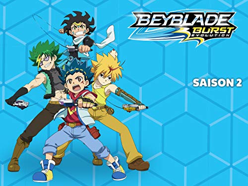 Beyblade Burst Evolution - Saison 2