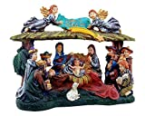 Christmas Nativity Set Lighted Christmas Village Nativity Scene is a Great Perfect Addition to Your Christmas Indoor Decorations & Holiday Displays