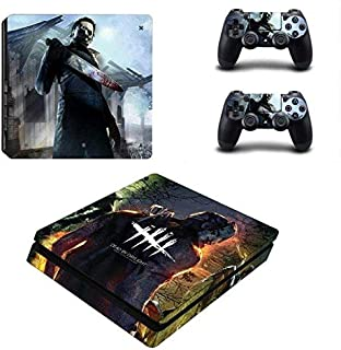 Tullia PS4 Slim Unique Skin Decal Stickers Set for PlayStation Console Controllers Devil game HD Printing