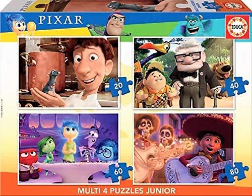 Educa Borrás- Multi 4 Junior Puzzle Infantil 20