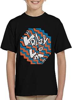 Comics Kingdom Krazy Kat Coloured Zigzag Logo Kid's T-Shirt