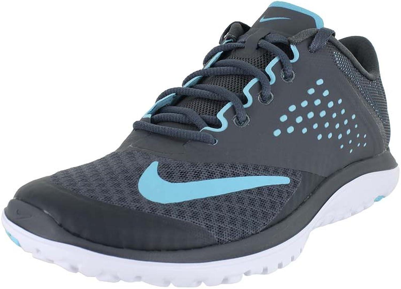 Nike Nike Nike kvinnor FS LITE Kör 2 grå Polariserad blå vit storlek 11  för att ge dig en trevlig online shopping