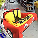 Magent Shopping Trolley Protector Baby Shopping Trolley Cover Baby Supermarket Shopping Trolley Cushion Washable Pushchair Soft Organisers Child Safety