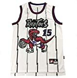 WWSC # 15 Carter Camiseta de Baloncesto Jersey Men's Fan Edition Chaleco Delicado Retro Golden...