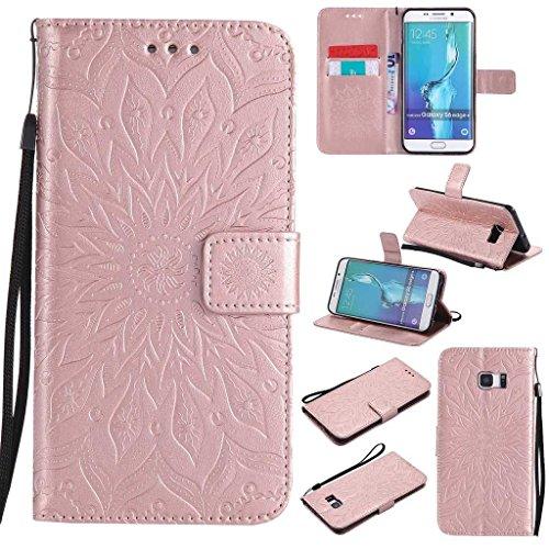 KKEIKO Galaxy S6 Edge Plus Case, Galaxy S6 Edge Plus Flip Leather Case,...