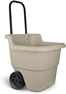 Suncast Lawn Cart in Taupe