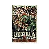ASFAFG Retro-Vintage-Filmposter Godzilla Vintage Poster 1