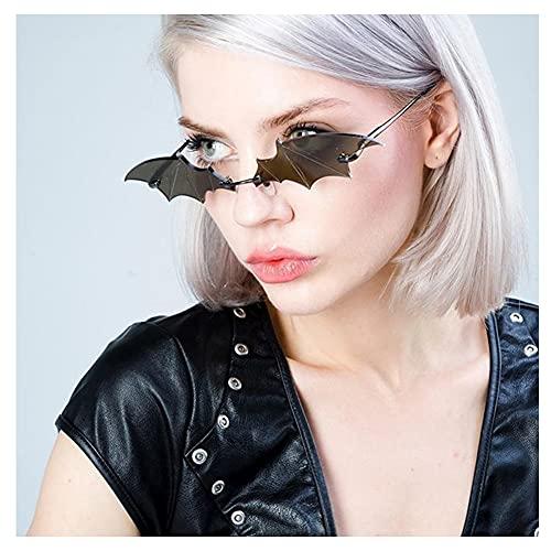 ZHMEHE Gafas De Halloween para Fiestas con Forma De Murciélago, Gafas De para Fotos, Accesorios para Vacaciones Disfraz De Halloween