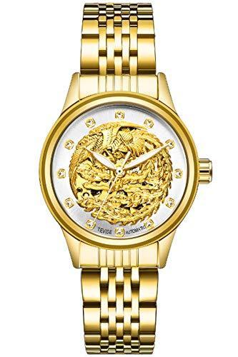 Reloj - findtime - para - MYXL-Tevise9006womenGOLDWHITE