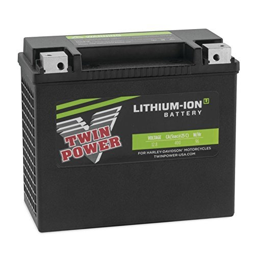 DLFP30HL-BS-H Twin Power Lithium Ion Battery for 1997-2017 Harley FLH/FLT Touring Models