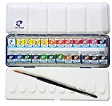 Estuche Pocket Box 24 Acuarela Van Gogh – El National Gallery – Metal Caja de 24 Acuarelas con Pincel