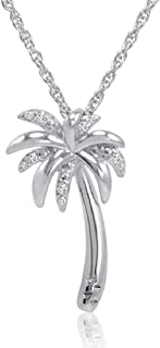 Best sterling silver palm tree necklace Reviews