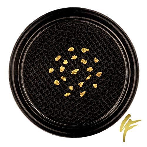 10, 20, 50 echte Goldnuggets aus Alaska mit Zertifikat 20-23 Karat 1-2 mm groß Münze Barren (20 Goldnuggets)