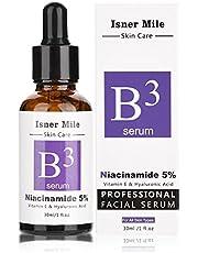 Hyaluronzuur Serum, Facial Serum Whitening Anti Aging Hydraterende verstevigende anti-rimpelcrème voor huidverzorging