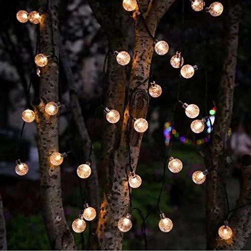 HLONGG Waterproof Decorative Holiday Light String, Solar LED Lantern, Outdoor Garden Light, Balcony Chandelier, Easter, Valentine's Day Night Light,B#1,L