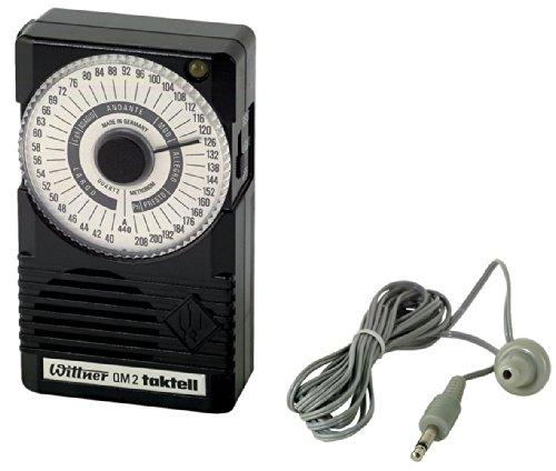 Wittner QM2 Metronom (Stimmton 440Hz) schwarz