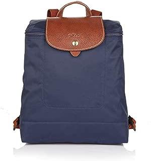 Longchamps Le Pliage Nylon Backpack- Navy blue