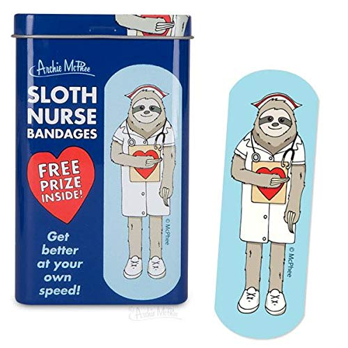 Sloth Nurse Bandages