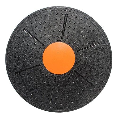 Yosoo Estabilidad Balance Board Wobble Ronda Disco tobillo Yoga Rodilla Rehab Ejercicio Gimnasio Fitness y Junta de Capacitación de 14 Pulgadas de Diámetro