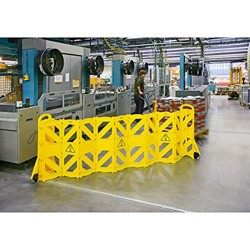 RUBBERMAID Barricaddy Safety Barrier System