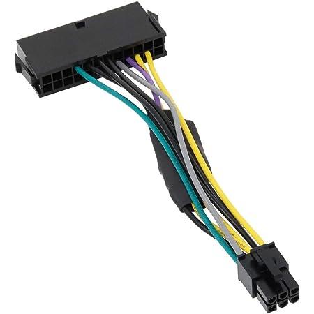 アイネックス Dell用ATX電源変換ケーブル 6ピン用 WAX-24DL6