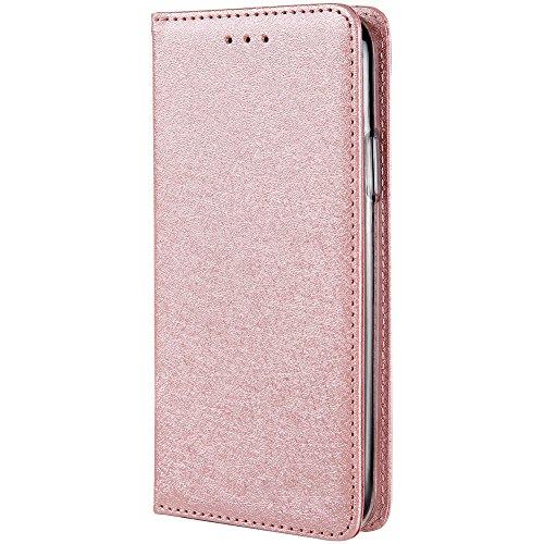 HARRMS iPhone XS Max telefoonhoes met portemonnee met creditcardvakje geldklemmen leren hoes telefoonvak magneet beschermhoes