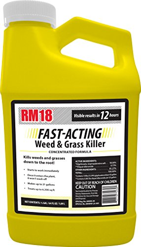 RM18 Fast-Acting Weed & Grass Killer Herbicide, 64-ounce -  75439