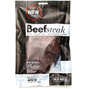 The Meat Makers Dried Beef Steak 200g - Premium Getrocknetes Rindfleisch - Beef Jerky ... (Original)