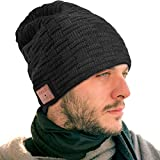 EastPin Bluetooth Hat, Bluetooth Beanie, Bluetooth 5.0 HD Stereo Beanie Headphone, Winter Hat, Electronic Gifts for Men, Christmas Birthday Music Gifts for Men & Women