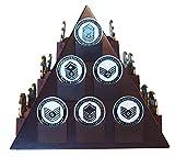 DECOMIL- Espositore a forma di piramide con base girevole...