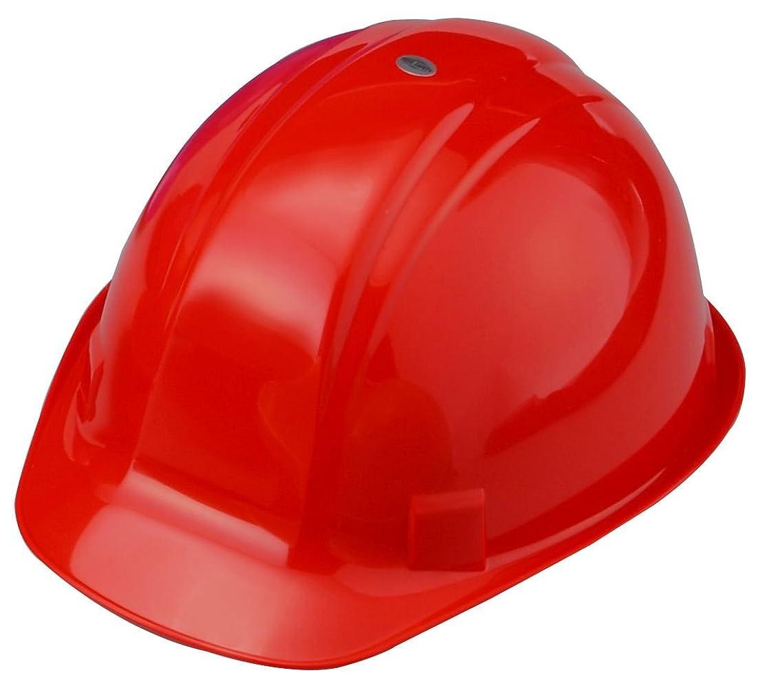 夜の動物園ミネラル負TOYO 作業用ヘルメット No.170 赤 アメリアン型 日本製