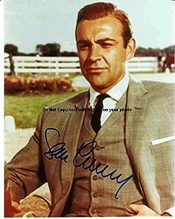 Connery Sean James Bond Autographed Preprint Signed 11x14 Poster Photo