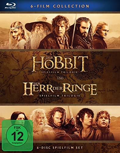 Produktbild von Der Hobbit und Der Herr Der Ringe: Mittelerde Collection [Blu-ray]